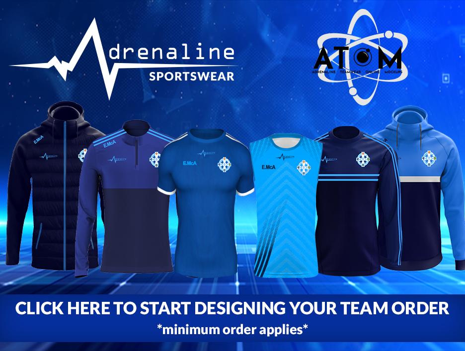 ATOM - Start Designing your team order (minimum order applies)